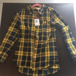 UG Apparel University of Michigan Cotton Flannel